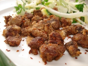 Albanian-style Lamb's Liver