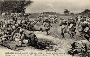 French Soldiers at the 1st Battle of the Marne