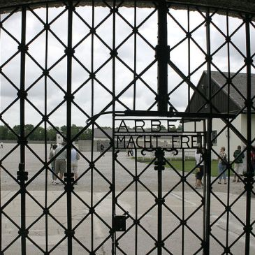 The gate of Dachau