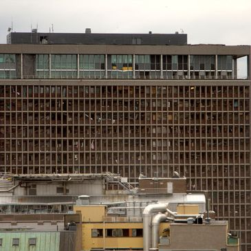 Norwegian Prime Minister's Office after the July 22, 2011 bombing