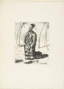 Beckmann, Christ in the Desert