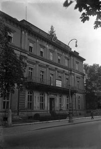The Brown House in 1935