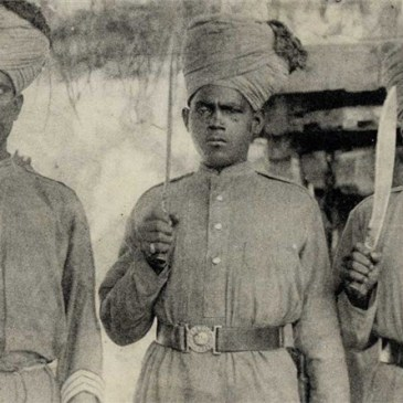 French Hindu Soldiers