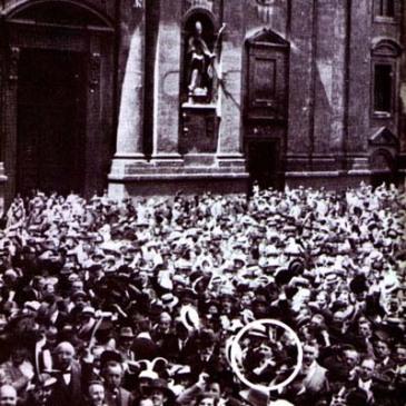 The Odeonsplatz, 8/2/1914
