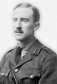 J.R.R. Tolkien in WWI uniform