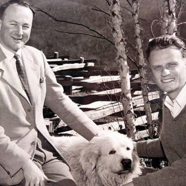 John Stott and Billy Graham