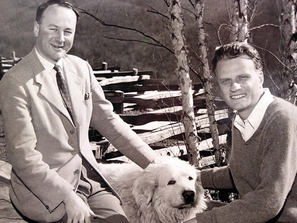 John Stott and Billy Graham