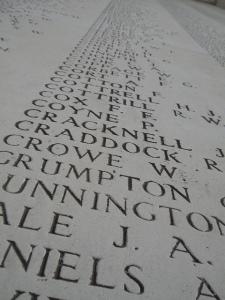 Names of the Missing - Menin Gate
