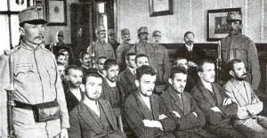 Gavrilo Princip and Co-Conspirators on Trial