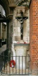 St Bartholomew the Great Church War Memorial, Smithfield, London - ww1cemeteries.com