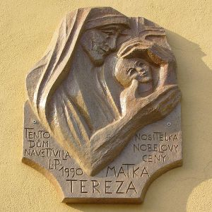 Czech memorial to Mother Teresa