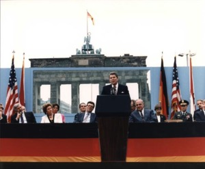 Reagan in West Berlin, 1987
