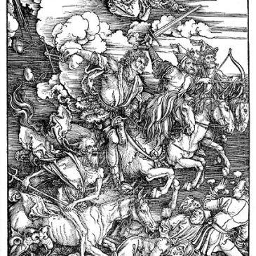 Dürer, The Four Horsemen of the Apocalypse