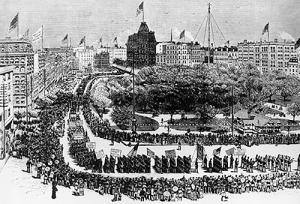 1882 Labor Day Parade
