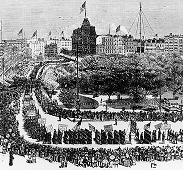 1882 Labor Day Parade