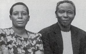 Eva and Simeon Nsibambi