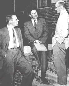 Dalphy Fagerstrom with Eugene McCarthy