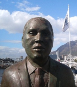 Luthuli Statue in Cape Town