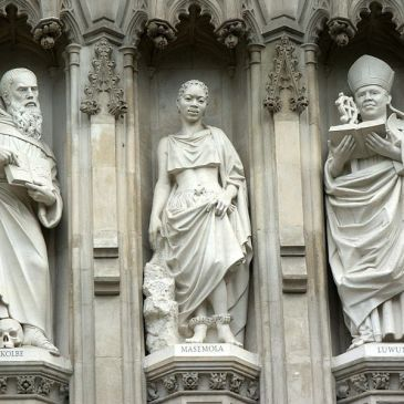 Luwum Statue at Westminster Abbey