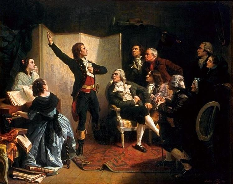 Singing La Marseillaise