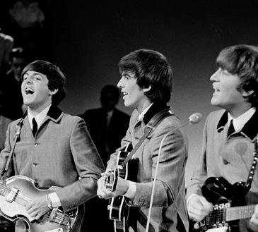 The Beatles (minus Ringo)
