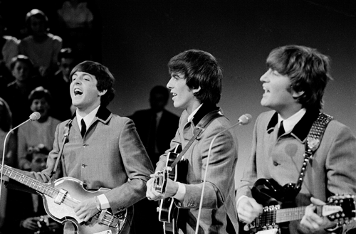 The Beatles (minus Ringo)