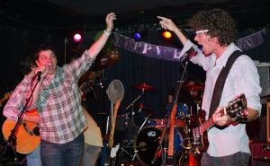 Jeff Tweedy and Gary Louris