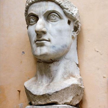 Colossal Bust of Constantine