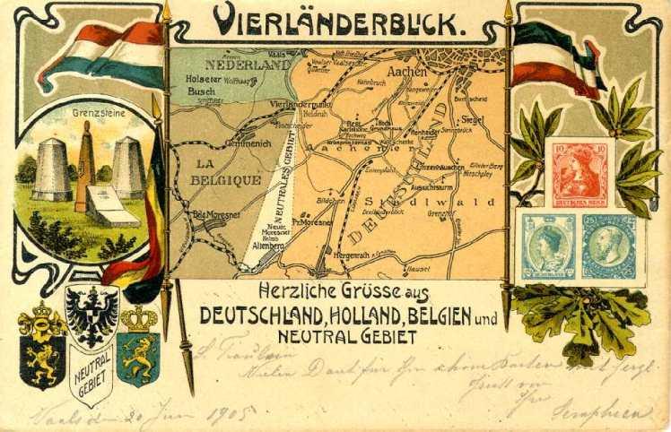 Moresnet Postcard