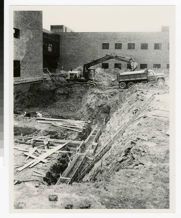 Bethel College addition, 1976