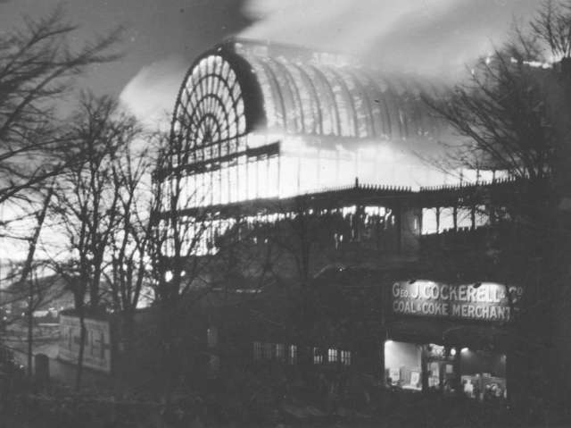 Crystal Palace on Fire