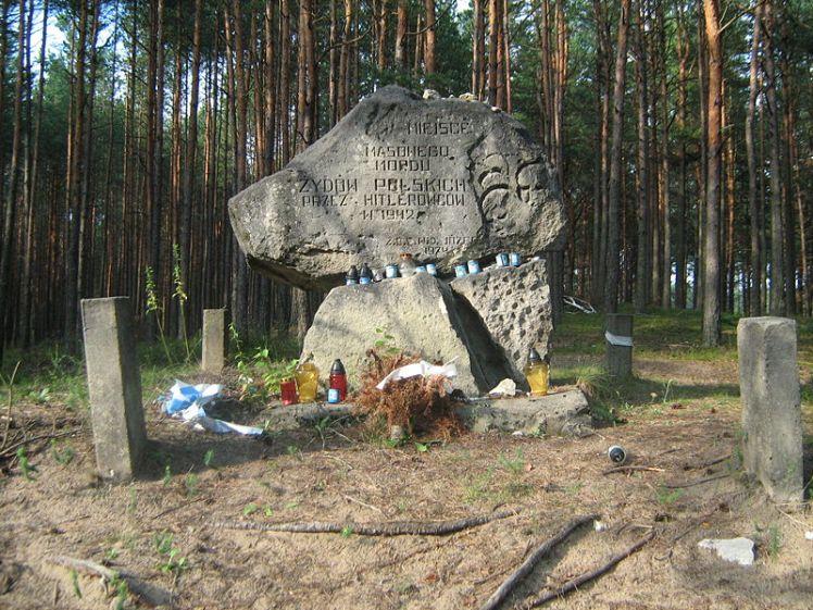 Obelisk at Jozefow, Poland