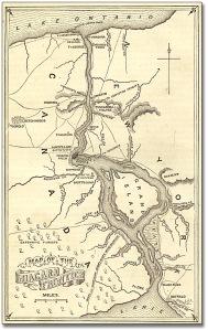 Map of the Niagara Frontier