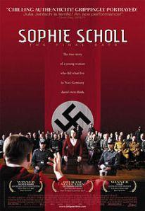 Sophie Scholl poster