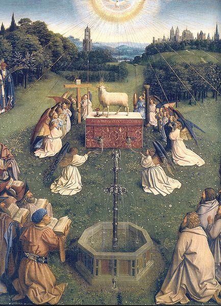 "Jan Van Eyck, ""The Adoration of the Lamb"""