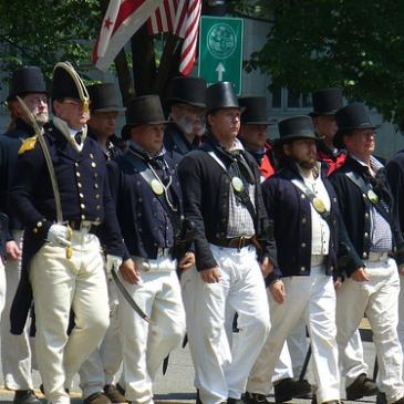 War of 1812 Reenactors