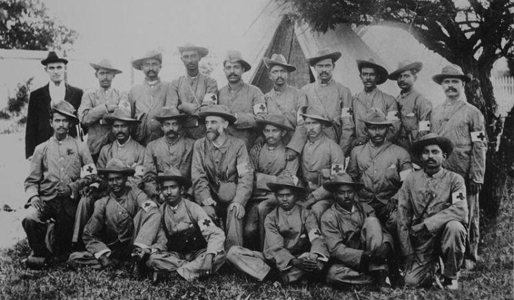 Gandhi in the Boer War