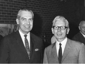 Gordon Johnson and Virgil Olson