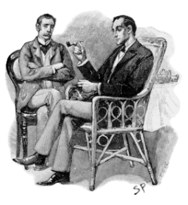 Watson and Holmes by Sidney Paget