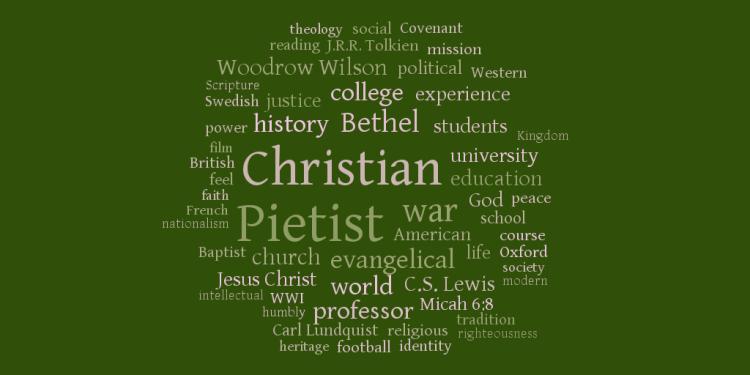 Pietist Schoolman Word Cloud, December 2011