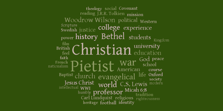 Pietist Schoolman Word Cloud, December 2011