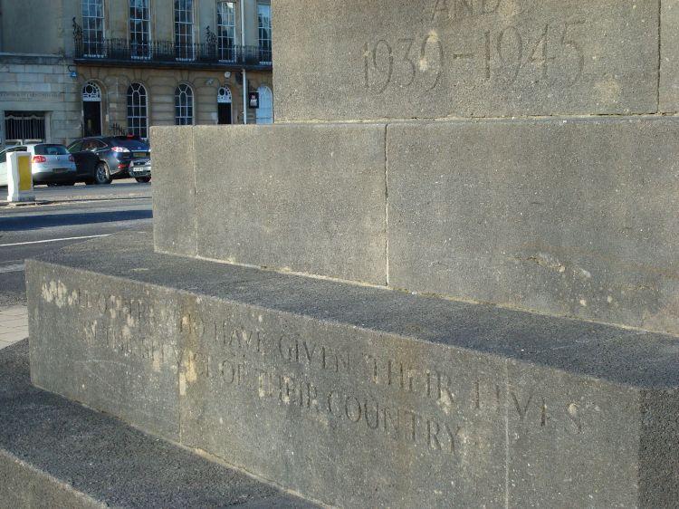 Steps of Oxford War Memorial