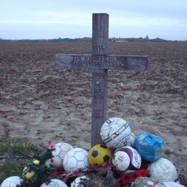 Christmas Truce Soccer Memorial