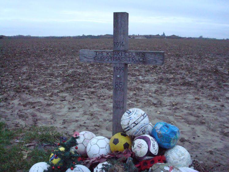 Christmas Truce Soccer Memorial