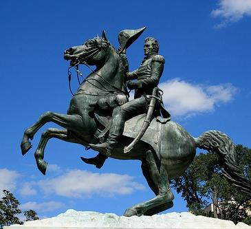 Andrew Jackson Statute in Lafayette Square