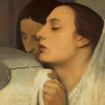 Legros, The Communion