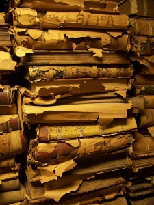 Stacks in the New Orleans City Archives