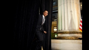 Barack Obama at the 2011 National Prayer Breakfast