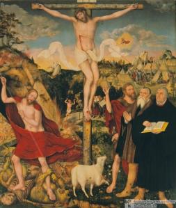 Cranach the Younger, The Weimar Altarpiece