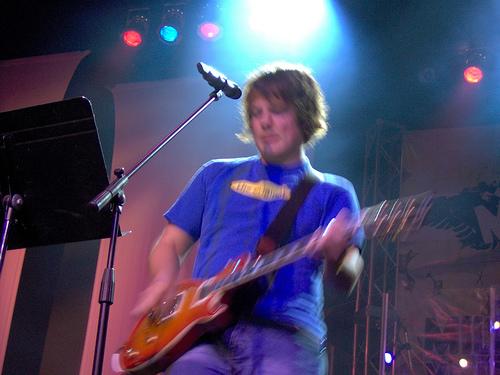 Worship Band Guitarist